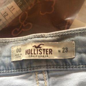 """W23"""" Hollister high waisted shorts (A60A)"""